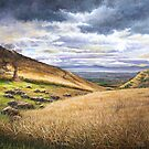 Scottish Landscape Oil Painting by Debbie Clark