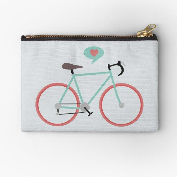 I love cycling Zipper Pouch