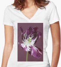 Adonis Women's Fitted V-Neck T-Shirt