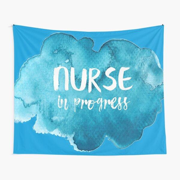 Nurse in Progress Tapestry