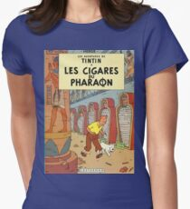 Tintin Cigares du Pharaon Women's Fitted T-Shirt