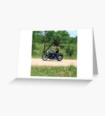 Live to Ride....Ride to Live.... Greeting Card