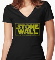 Stonewall Stwars Fitted V-Neck T-Shirt