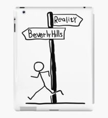 Funny Signpost Themed Beverly Hillis Design iPad Case/Skin