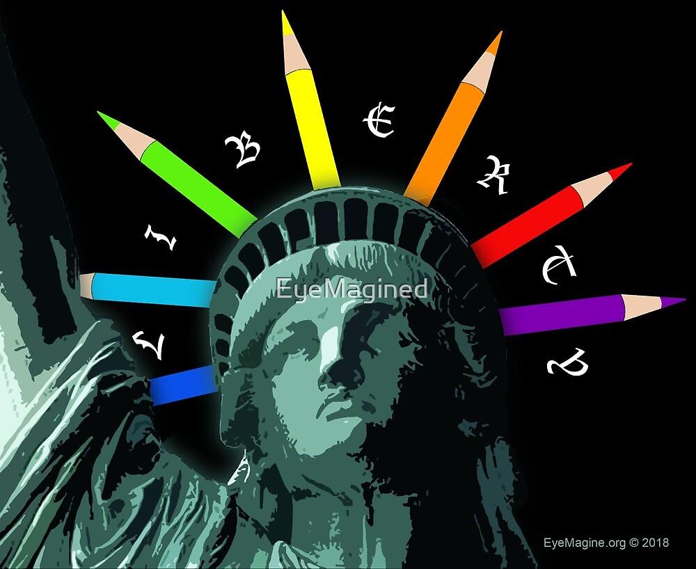 Liberty Rainbow by EyeMagined