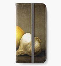 Still life with food iPhone Wallet/Case/Skin