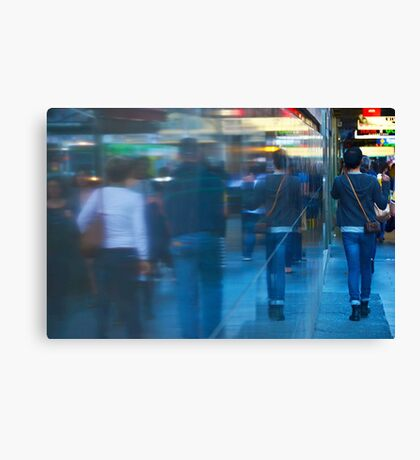 Reflected World: Deep into the Wall Canvas Print