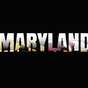 Maryland License Plate (Maryland Flag) by VsTheInternet