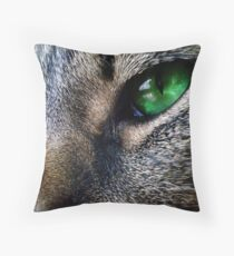 All Seeing Eyes Throw Pillow