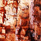 Rock Abstracts of Ormiston Gorge #5 by Lexa Harpell