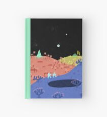Moon Walk Hardcover Journal