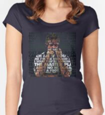 Gazza in Motion '90 Women's Fitted Scoop T-Shirt