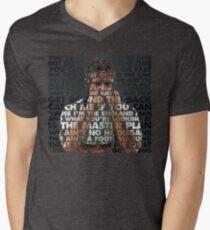 Gazza in Motion '90 Men's V-Neck T-Shirt