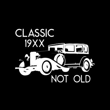 Classic Not Old Vintage Car  by MNA-Art