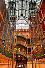 The Bradbury Building by photosbyflood