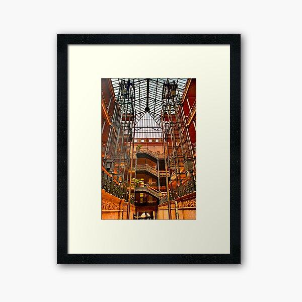 The Bradbury Building Framed Art Print