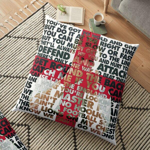 Gazza in Motion '90 Floor Pillow