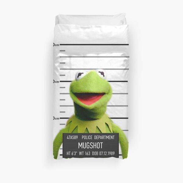 Kermit Mugshot Housse de couette