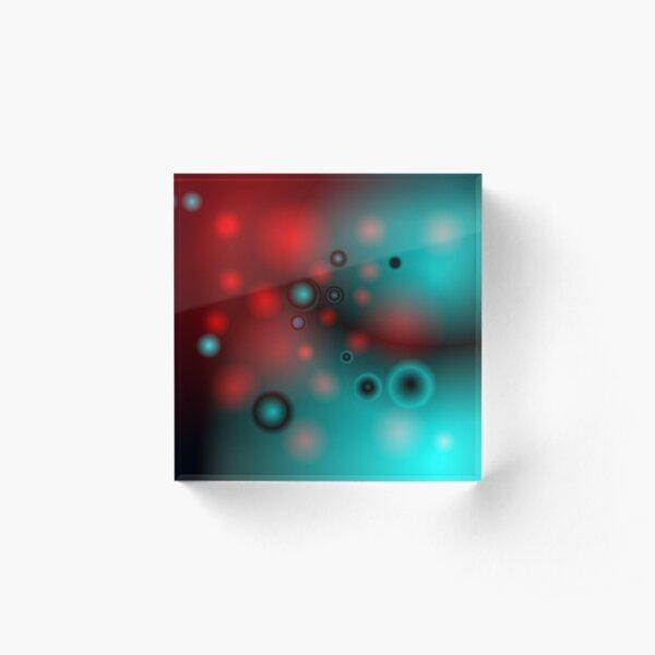 Planet II Acrylic Block