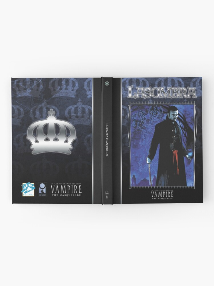 Masquerade Clan: Lasombra V20 | Hardcover Journal