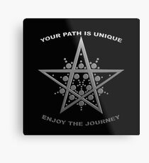 Every Path is Unique Metal Print