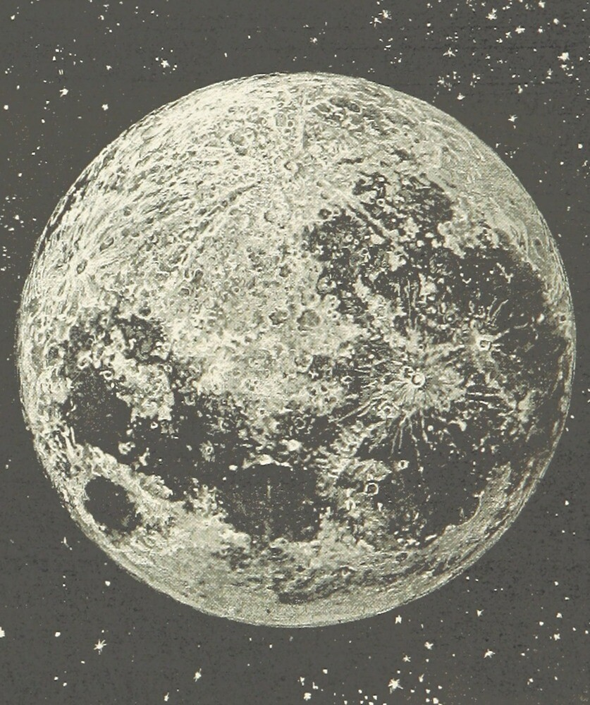 Image result for moon vintage