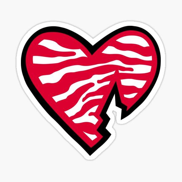 HBK Heart Sticker