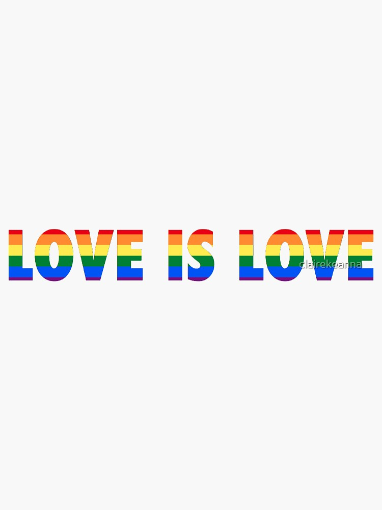 love is love by clairekeanna