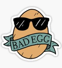 Bad Egg Sticker