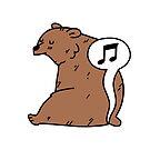 Farting Bear by Ben Cameron