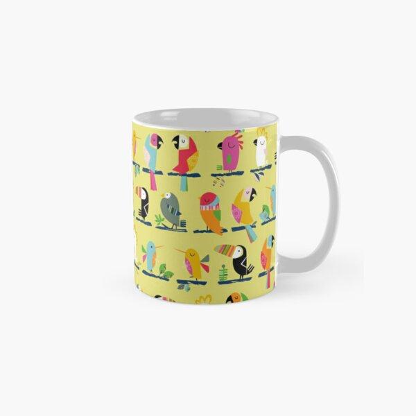 Tropical birds having a chat Classic Mug