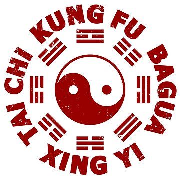 KUNG FU Tai Chi Xingyi Bagua Symbol Trigrams  by IronEcho