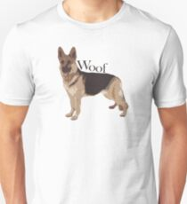 Woof - Alsatian T-Shirt