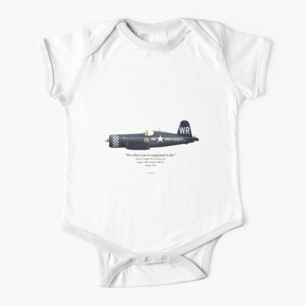 Do What You're Supposed to Do - F4U-4 Short Sleeve Baby One-Piece