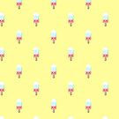 «Patrón de paletas fundidas Kawaii» de EuGeniaArt