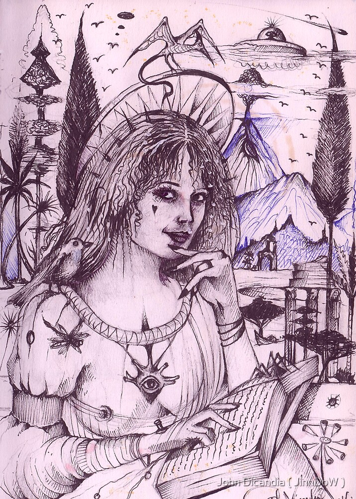 Lucrezia Borgia ( La Femme Fatale ) by John Dicandia ( JinnDoW )
