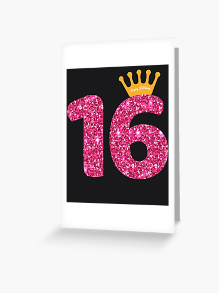 16 Today on Light Pink Socks Great 16th Birthday Gift