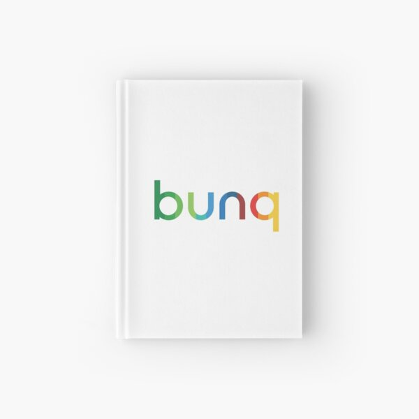 bunq Rainbow. Hardcover Journal