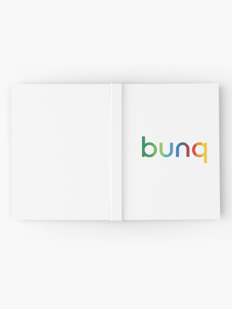 Alternate view of bunq Rainbow. Hardcover Journal