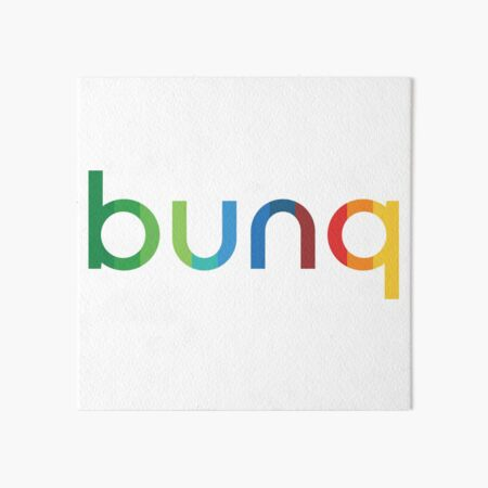 bunq Rainbow. Art Board Print