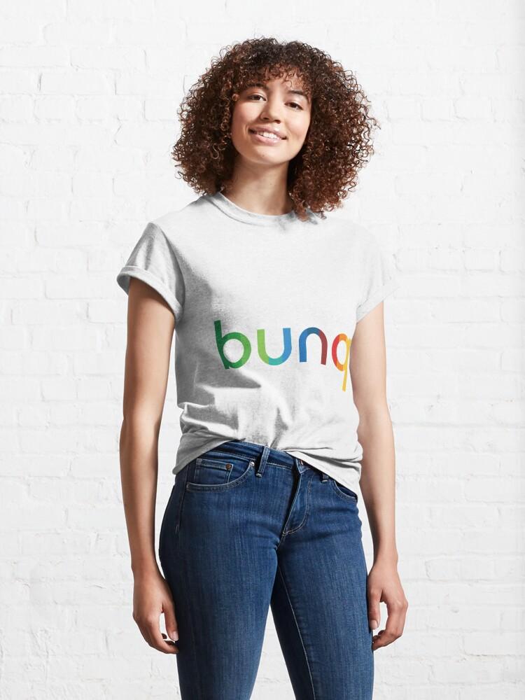 Alternate view of bunq Rainbow. Classic T-Shirt
