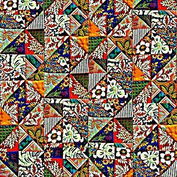 Patchwork Pattern by bywhacky