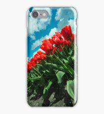Sky Tulips  iPhone Case/Skin