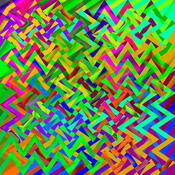 Colorful ZigZag by Vitta