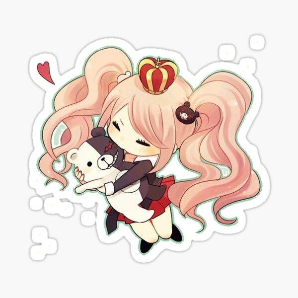 Dangnaronpa: Junko Enoshima and Monokuma Sticker