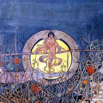 Charles Rennie Mackintosh, The Harvest Moon by TOMSREDBUBBLE