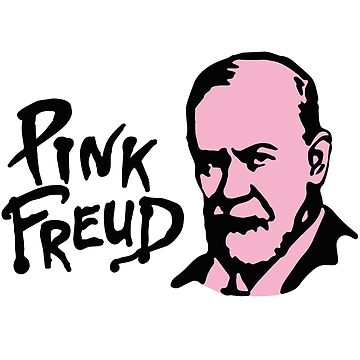 Pink Freud - Sigmund Freud - Rock by LaundryFactory