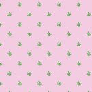 Weed Leaf Print by ksgall