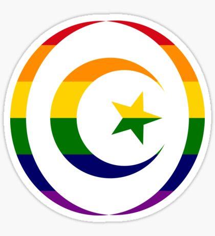 Muslim (Rainbow) Sticker