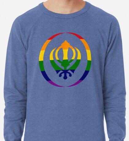 Sikh (Rainbow) Lightweight Sweatshirt